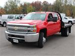 2019 Silverado 3500 Crew Cab DRW 4x4,  Commercial Truck & Van Equipment Gooseneck Platform Body #19C35T - photo 9