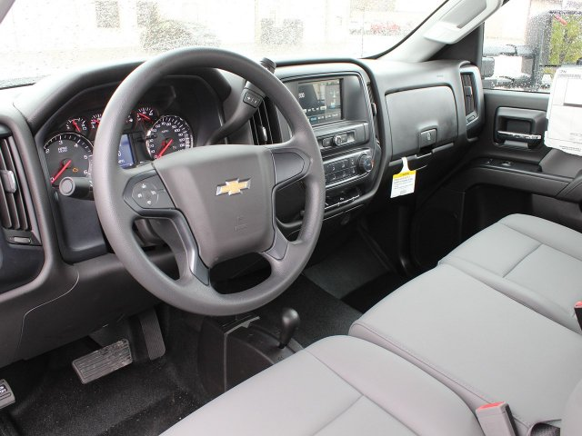 2019 Silverado 3500 Regular Cab DRW 4x4,  Rugby Stake Bed #19C39T - photo 22