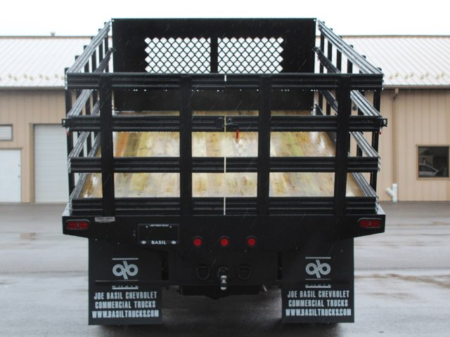 2019 Silverado 3500 Regular Cab DRW 4x4,  Rugby Stake Bed #19C40T - photo 20