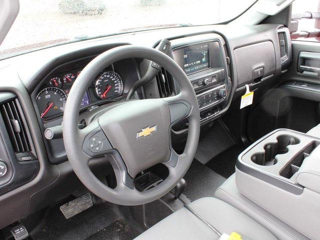 2019 Silverado 3500 Regular Cab DRW 4x4,  Rugby Stake Bed #19C40T - photo 28
