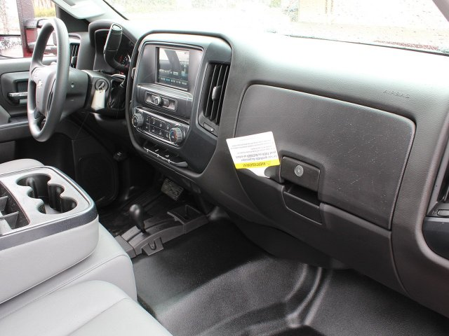 2019 Silverado 3500 Regular Cab DRW 4x4,  Rugby Stake Bed #19C40T - photo 39