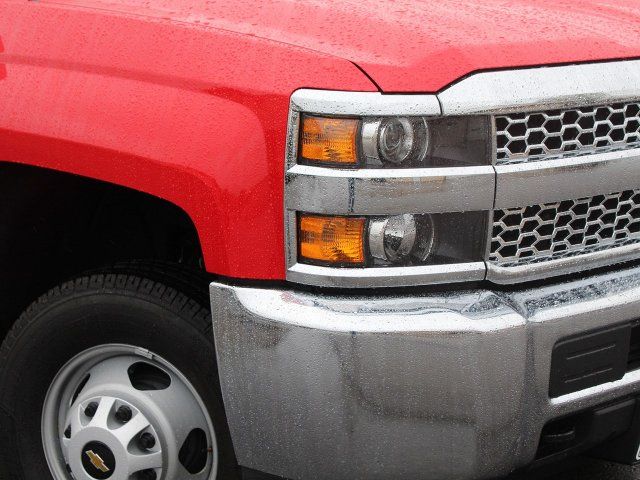 2019 Silverado 3500 Regular Cab DRW 4x4,  Rugby Stake Bed #19C41T - photo 12