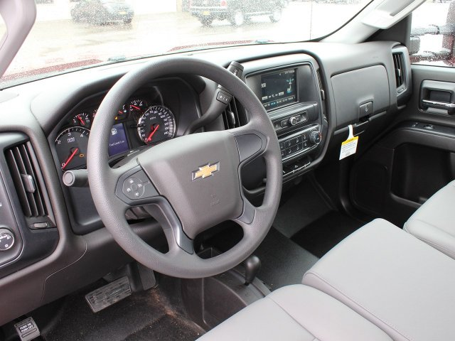 2019 Silverado 3500 Regular Cab DRW 4x4,  Rugby Stake Bed #19C41T - photo 21