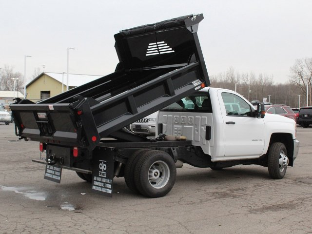 2019 Silverado 3500 Regular Cab DRW 4x4,  Crysteel Dump Body #19C43T - photo 17