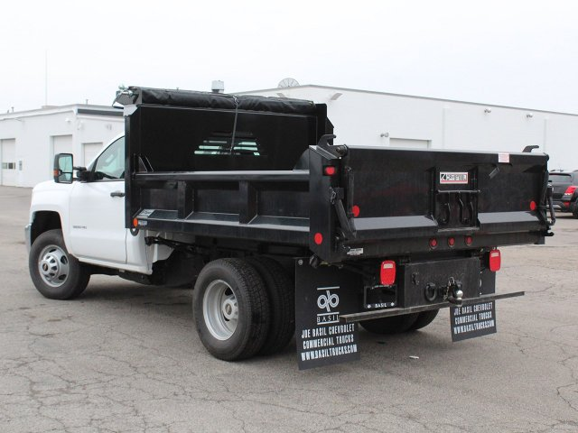 2019 Silverado 3500 Regular Cab DRW 4x4,  Crysteel Dump Body #19C43T - photo 8