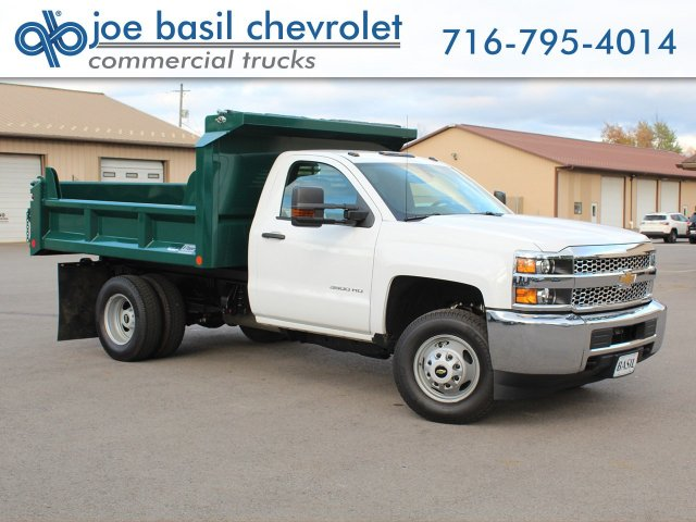 2019 Silverado 3500 Regular Cab DRW 4x4,  Crysteel E-Tipper Dump Body #19C44T - photo 1