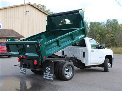 2019 Silverado 3500 Regular Cab DRW 4x4,  Crysteel E-Tipper Dump Body #19C44T - photo 17