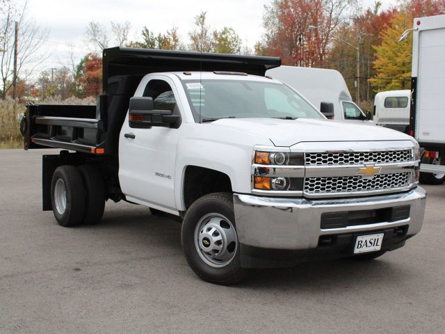 2019 Silverado 3500 Regular Cab DRW 4x4,  Air-Flo Dump Body #19C52T - photo 10