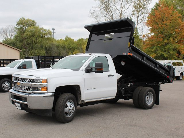 2019 Silverado 3500 Regular Cab DRW 4x4,  Air-Flo Dump Body #19C52T - photo 14
