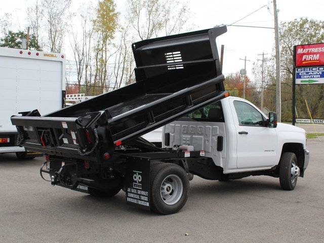2019 Silverado 3500 Regular Cab DRW 4x4,  Air-Flo Dump Body #19C52T - photo 15