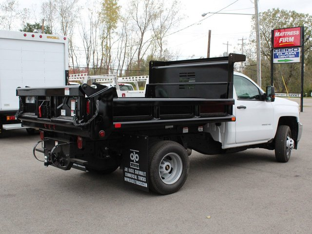 2019 Silverado 3500 Regular Cab DRW 4x4,  Air-Flo Pro-Class Dump Body #19C52T - photo 2