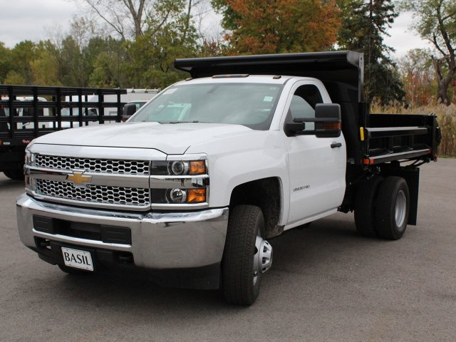 2019 Silverado 3500 Regular Cab DRW 4x4,  Air-Flo Dump Body #19C52T - photo 9