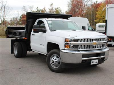 2019 Silverado 3500 Regular Cab DRW 4x4,  Air-Flo Pro-Class Dump Body #19C52T - photo 10