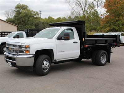 2019 Silverado 3500 Regular Cab DRW 4x4,  Air-Flo Pro-Class Dump Body #19C52T - photo 3