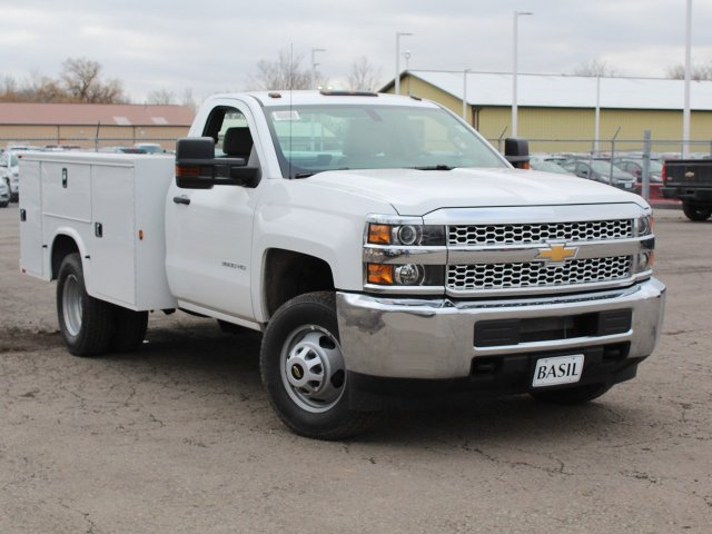 2019 Silverado 3500 Regular Cab DRW 4x4,  Knapheide Service Body #19C77T - photo 10