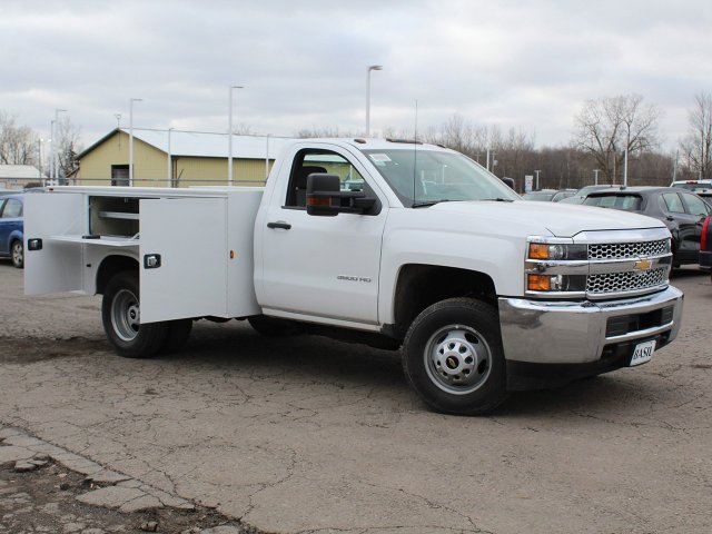 2019 Silverado 3500 Regular Cab DRW 4x4,  Knapheide Service Body #19C77T - photo 14