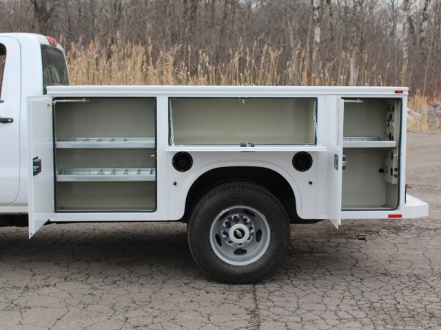 2019 Silverado 3500 Regular Cab DRW 4x4,  Knapheide Service Body #19C77T - photo 18