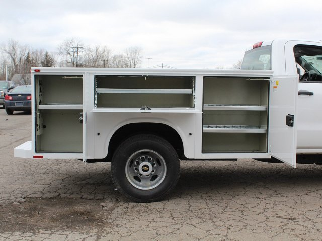 2019 Silverado 3500 Regular Cab DRW 4x4,  Knapheide Service Body #19C77T - photo 19