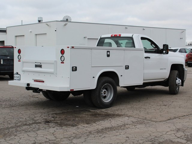 2019 Silverado 3500 Regular Cab DRW 4x4,  Knapheide Service Body #19C77T - photo 2