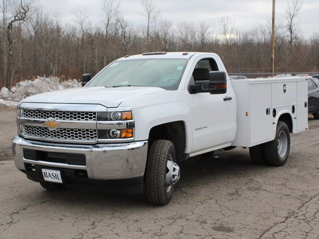 2019 Silverado 3500 Regular Cab DRW 4x4,  Knapheide Service Body #19C77T - photo 9