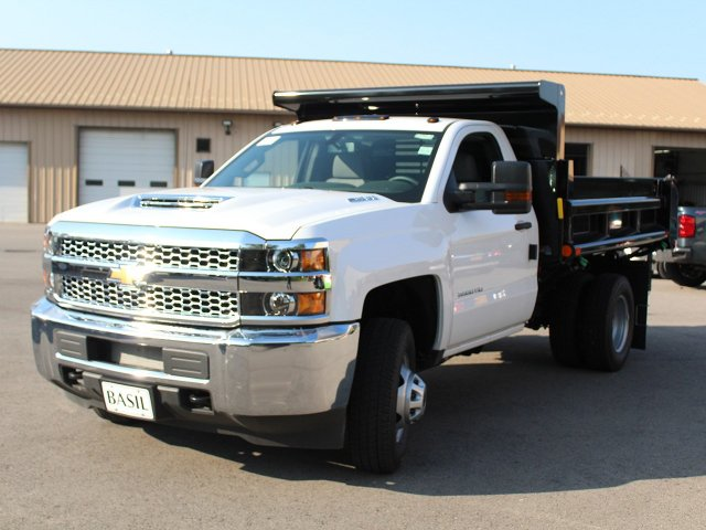 2019 Silverado 3500 Regular Cab DRW 4x4,  Air-Flo Dump Body #19C7T - photo 9