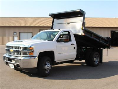 2019 Silverado 3500 Regular Cab DRW 4x4,  Air-Flo Pro-Class Dump Body #19C7T - photo 14