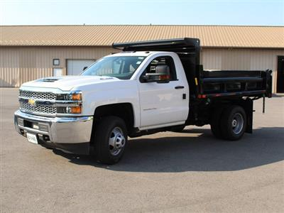 2019 Silverado 3500 Regular Cab DRW 4x4,  Air-Flo Pro-Class Dump Body #19C7T - photo 3