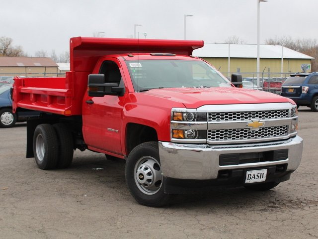 2019 Silverado 3500 Regular Cab DRW 4x4,  Air-Flo Dump Body #19C88T - photo 10