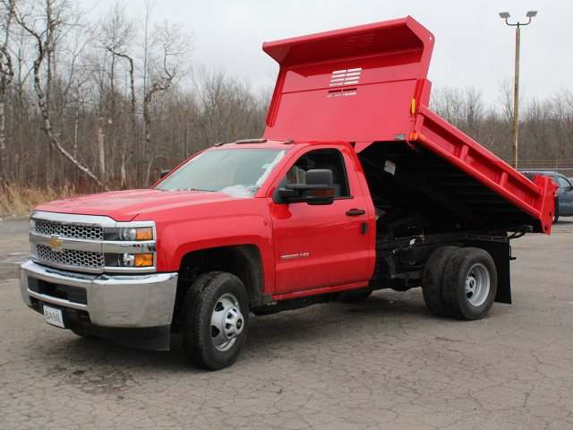 2019 Silverado 3500 Regular Cab DRW 4x4,  Air-Flo Dump Body #19C88T - photo 14