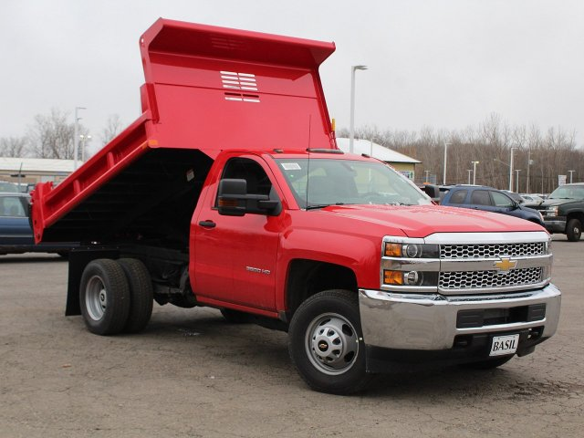 2019 Silverado 3500 Regular Cab DRW 4x4,  Air-Flo Dump Body #19C88T - photo 15