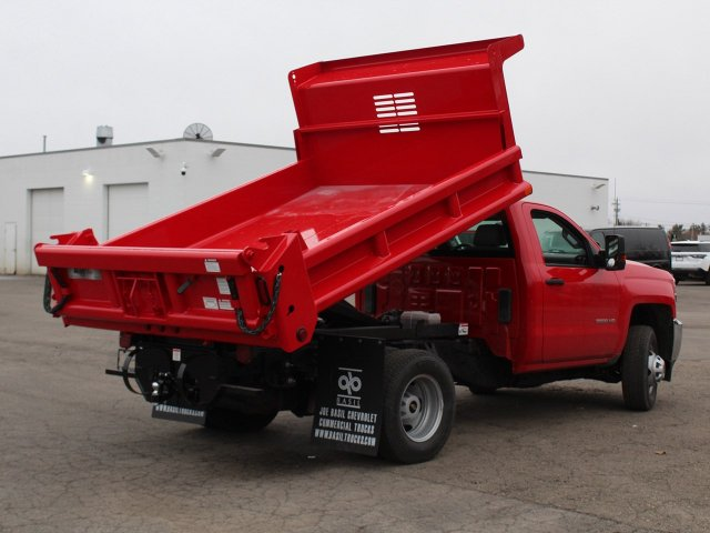 2019 Silverado 3500 Regular Cab DRW 4x4,  Air-Flo Dump Body #19C88T - photo 17