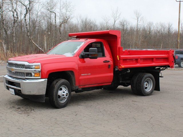 2019 Silverado 3500 Regular Cab DRW 4x4,  Air-Flo Dump Body #19C88T - photo 3