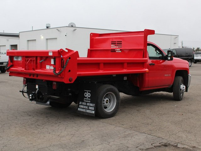 2019 Silverado 3500 Regular Cab DRW 4x4,  Air-Flo Dump Body #19C88T - photo 2