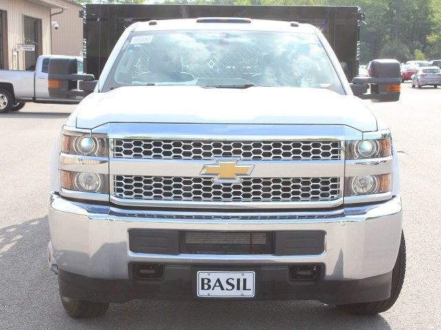 2019 Silverado 3500 Regular Cab DRW 4x2,  Knapheide Stake Bed #19C8T - photo 5