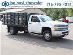 2019 Silverado 3500 Regular Cab DRW 4x2,  Knapheide Stake Bed #19C8T - photo 1