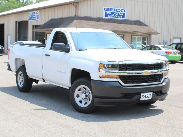 2018 Silverado 1500 Regular Cab 4x4,  Pickup #C3617TD - photo 10