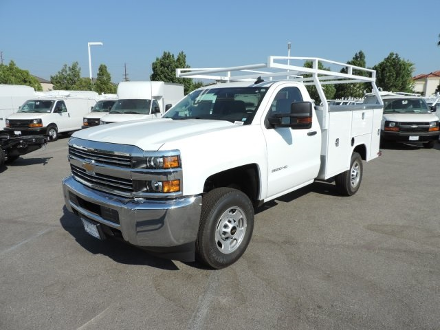 2016 Silverado 2500 Regular Cab, Harbor Utility #M16676 - photo 5