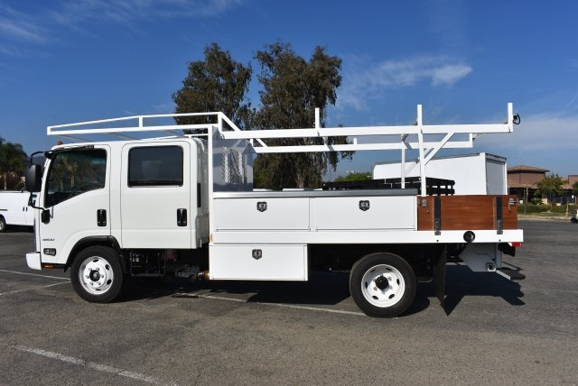 2017 Low Cab Forward Crew Cab 4x2,  Harbor Contractor Body #M171018 - photo 6