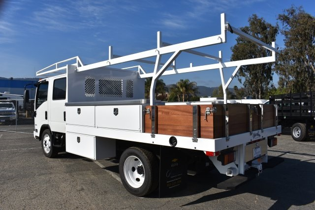 2017 Low Cab Forward Crew Cab 4x2,  Harbor Contractor Body #M171018 - photo 7