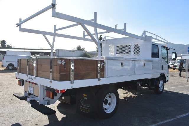 2017 Low Cab Forward Crew Cab 4x2,  Harbor Contractor Body #M171018 - photo 2