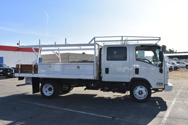 2017 Low Cab Forward Crew Cab 4x2,  Harbor Contractor Body #M171018 - photo 9