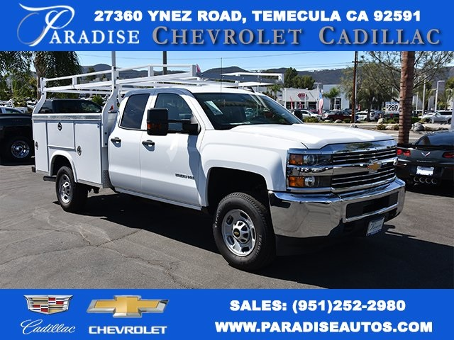 2017 Silverado 2500 Double Cab 4x2,  Royal Utility #M171042 - photo 1