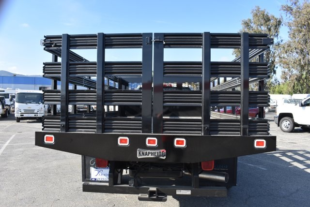 2017 Silverado 3500 Regular Cab DRW, Knapheide Value-Master X Flat/Stake Bed #M171126 - photo 8