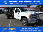 2017 Silverado 3500 Regular Cab DRW, Knapheide Value-Master X Flat/Stake Bed #M171126 - photo 1