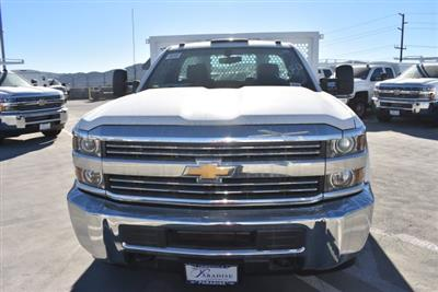2017 Silverado 3500 Regular Cab DRW,  Royal Flatbed Bodies Platform Body #M171142 - photo 3