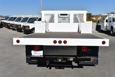 2017 Silverado 3500 Regular Cab DRW,  Royal Flatbed Bodies Platform Body #M171142 - photo 7