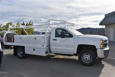 2017 Silverado 3500 Regular Cab DRW 4x2,  Royal Contractor Bodies Contractor Body #M171143 - photo 8