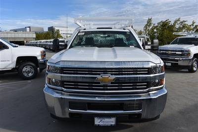 2017 Silverado 3500 Regular Cab DRW 4x2,  Royal Contractor Bodies Contractor Body #M171143 - photo 3