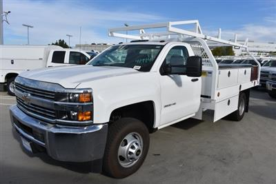 2017 Silverado 3500 Regular Cab DRW 4x2,  Royal Contractor Bodies Contractor Body #M171143 - photo 4