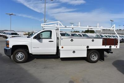 2017 Silverado 3500 Regular Cab DRW 4x2,  Royal Contractor Bodies Contractor Body #M171143 - photo 5
